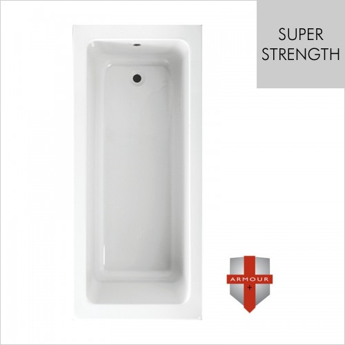 Art Of Living - Series 2 Super Strength Single Ended Bath 1700 x 750mm