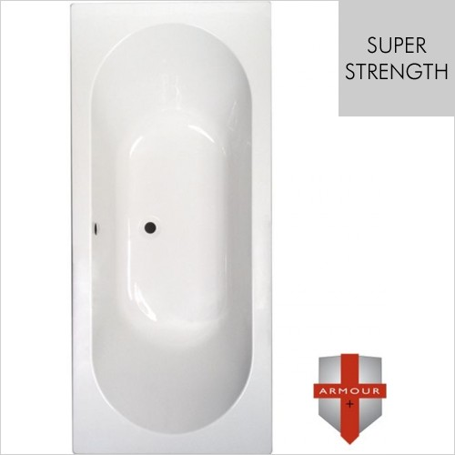 Art Of Living - Series 1 Super Strength Double Ended Bath 1700 x 750mm