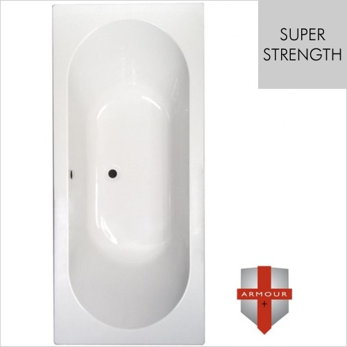 Art Of Living - Series 1 Super Strength Double Ended Bath 1800 x 800mm