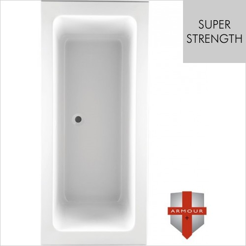 Art Of Living - Series 2 Super Strength Double Ended Bath 1700 x 800mm
