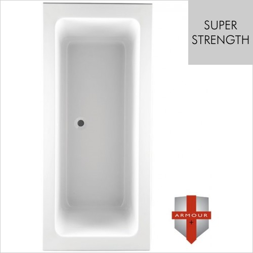 Art Of Living - Series 2 Super Strength Double Ended Bath 1800 x 800mm