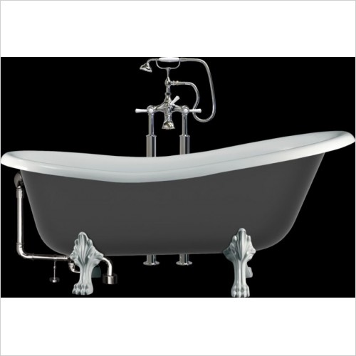 Victoria & Albert - Roxburgh Freestanding Slipper Bath With Overflow