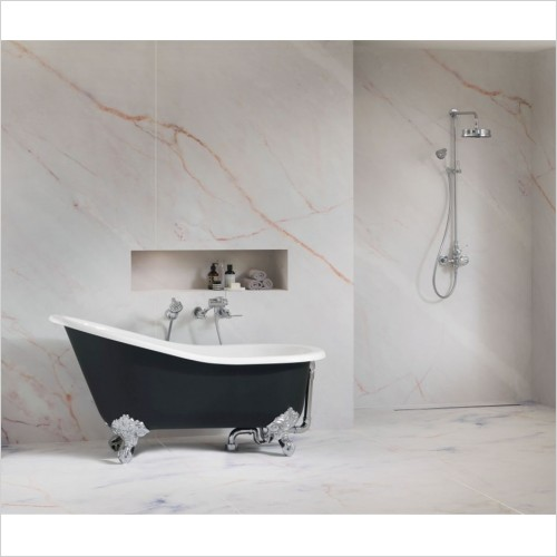 Victoria & Albert - Shropshire Freestanding Slipper Bath With Overflow
