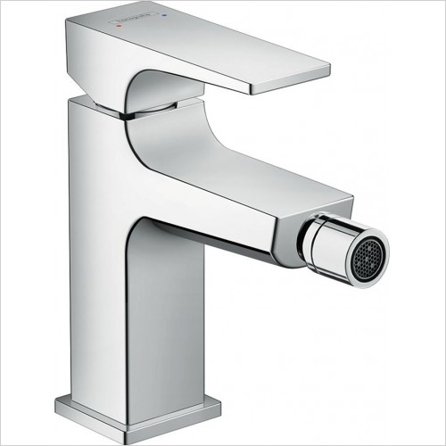 Hansgrohe - Metropol Single Lever Bidet Mixer & Push-Open Waste