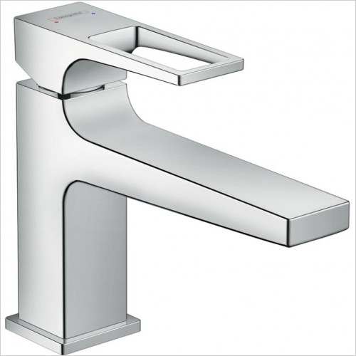 Hansgrohe - Metropol Basin Mixer 100 With Loop Handle &  Push-Open Waste