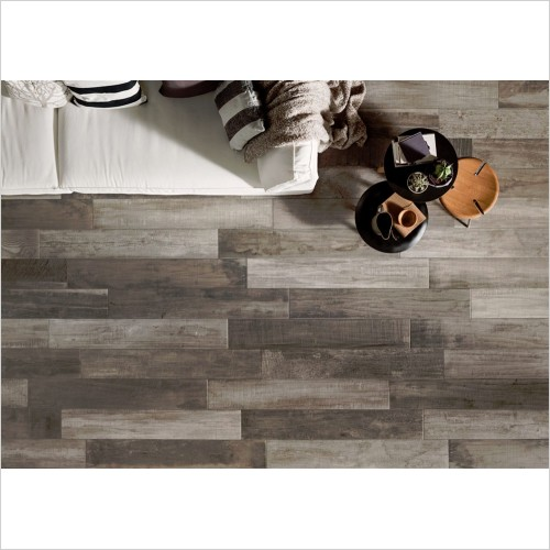 Park Street Bathrooms - Nordic Grey Wood Effect Tile 1215 x 200mm
