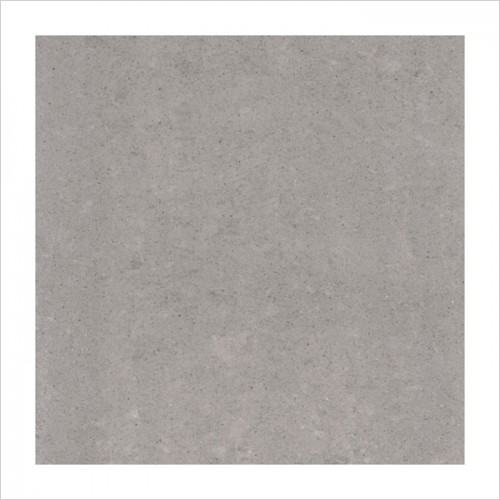Park Street Bathrooms - Pearl Matt Light Grey Floor & Wall Tile 600 x 600mm