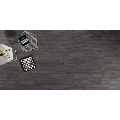 Park Street Bathrooms - Alpine Anthracite Wood Effect Tile 1000 x 160mm