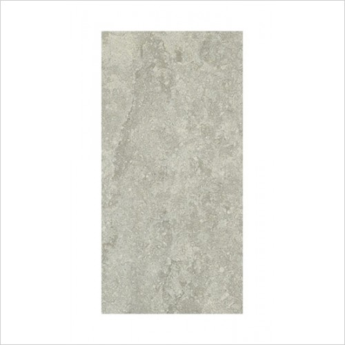 Park Street Bathrooms - Nimbus Light Grey Floor & Wall Tile 595 x 295mm