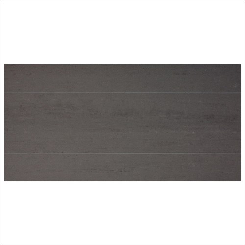 Park Street Bathrooms - Nimbus Nero Decor Wall Tile 595 x 295mm