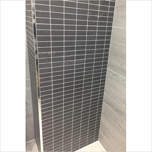 Park Street Bathrooms - Nimbus Nero Decor Tile 295 x 295mm