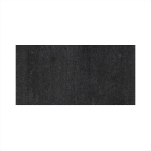 Park Street Bathrooms - Pearl Matt Black Floor & Wall Tile 600 x 300mm