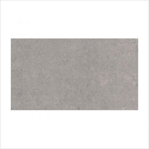 Park Street Bathrooms - Pearl Matt Light Grey Floor & Wall Tile 600 x 300mm