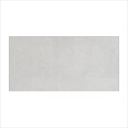 Park Street Bathrooms - Concreta White Matt Floor & Wall Tile 600 x 300mm