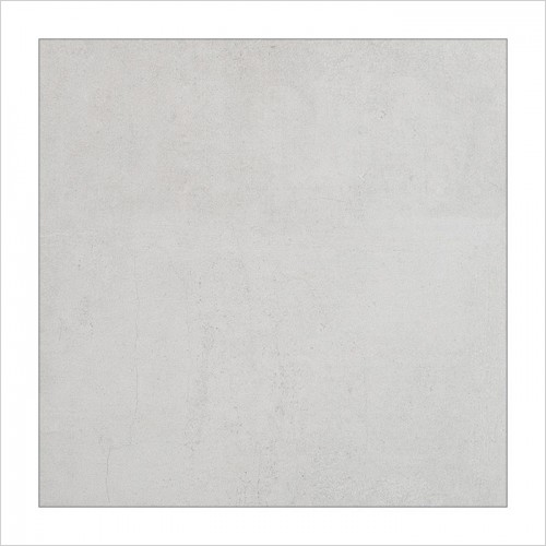 Park Street Bathrooms - Concreta White Matt Floor & Wall Tile 600 x 600mm