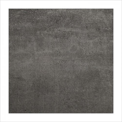 Park Street Bathrooms - Concreta Anthracite Matt Floor & Wall Tile 600 x 600mm