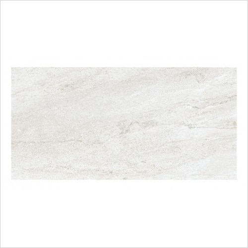 Park Street Bathrooms - Storm Blanco Floor & Wall Tile 600 x 300mm