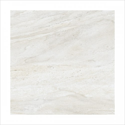 Park Street Bathrooms - Storm Blanco Floor & Wall Tile 600 x 600mm
