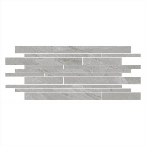 Park Street Bathrooms - Storm Silver Muro Decor Tile 640 x 300mm