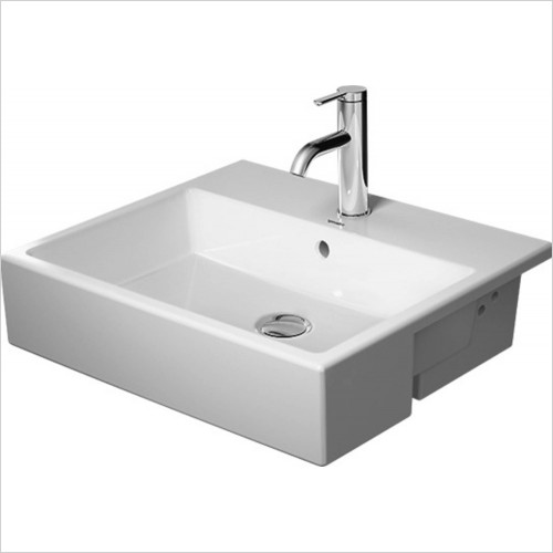 Duravit - Vero Air Semi Recessed Washbasin 550mm