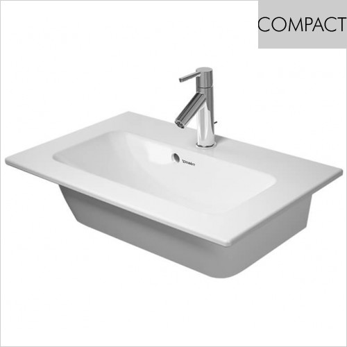 Duravit - Me By Starck Furniture Washbasin Compact 630mm