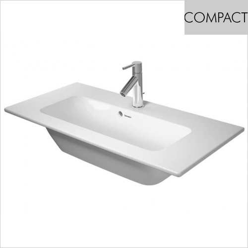 Duravit - Me By Starck Furniture Washbasin Compact 830mm