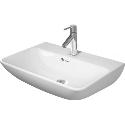 Duravit - ME by Starck Washbasin Compact 600mm 1 Tap Hole