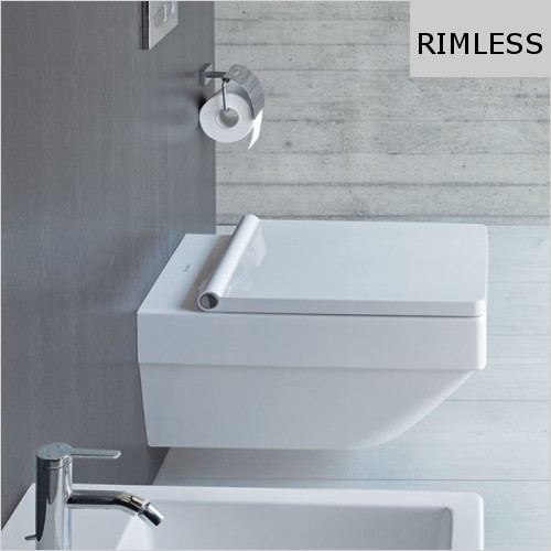 Duravit - Vero Air Toilet Wall Mounted Rimless
