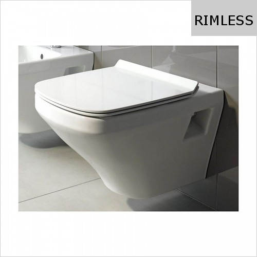 Duravit - DuraStyle Toilet Wall Mounted Compact Rimless