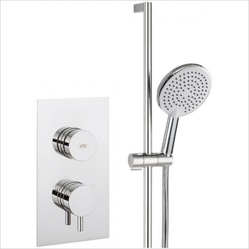 Crosswater - Dial Shower Valve, Kai Trim Pack 18