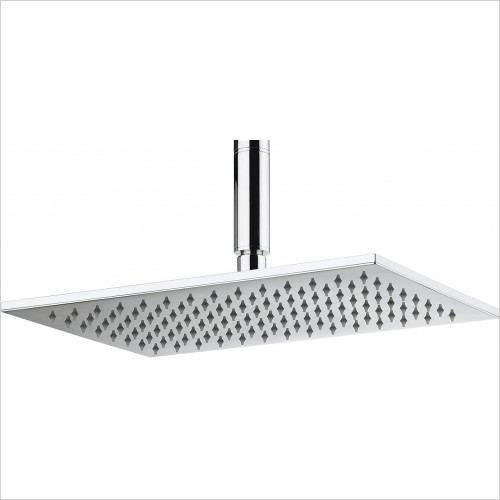 Crosswater - Zion 340mm Rectangular Shower Head