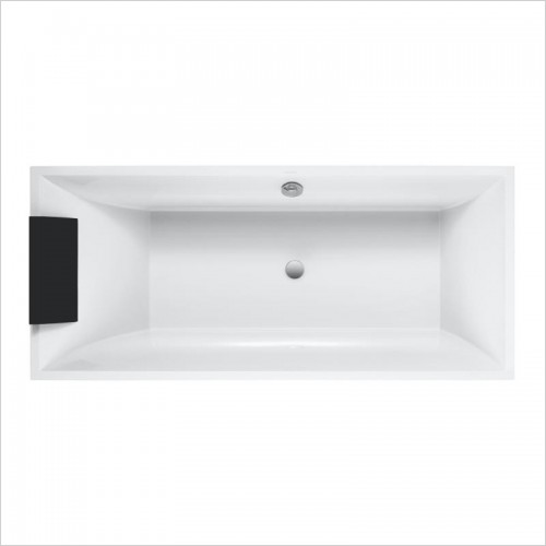 Villeroy & Boch - Squaro Duo Slim Line Rectangular Quaryl Bath 1794 x 794mm