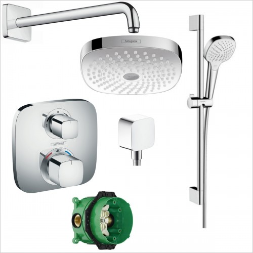 Hansgrohe - Croma Select E Rail Pack