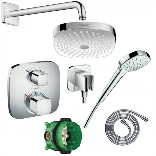 Hansgrohe - Croma Select E Porter Pack