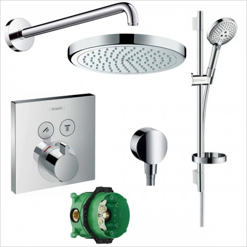 Hansgrohe - Select Valve Croma 220 Rail Pack