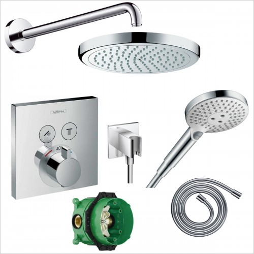 Hansgrohe - Select Valve Croma 220 Porter Pack