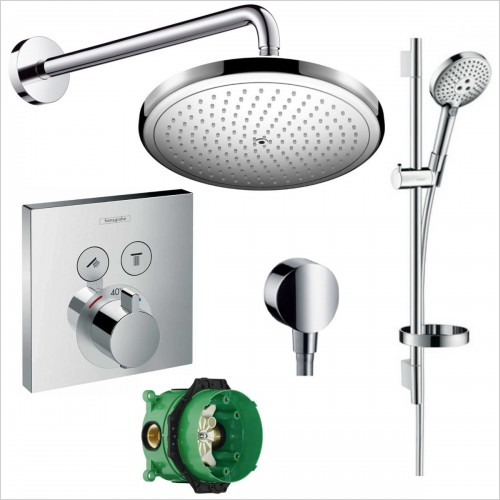 Hansgrohe - Select Valve Croma 280 Rail Pack