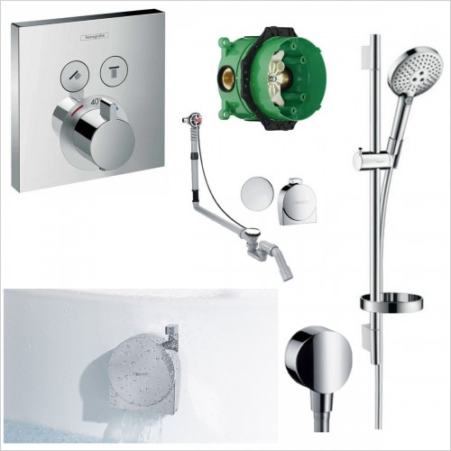 Hansgrohe - Select Exafill Shower Over Bath Pack