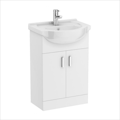 Park Street Bathrooms - Charlotte 550mm Floorstanding Vanity Unit & Basin