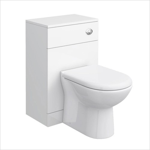 Park Street Bathrooms - Charlotte 500 x 300mm WC Unit