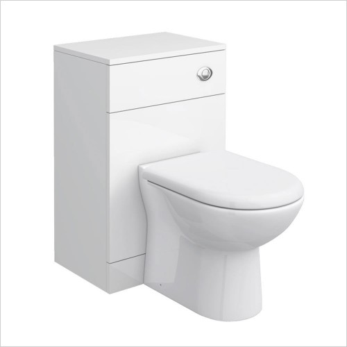 Park Street Bathrooms - Charlotte 500 x 330mm WC Unit