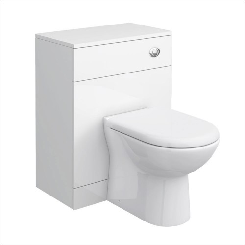 Park Street Bathrooms - Charlotte 600 x 330mm WC Unit