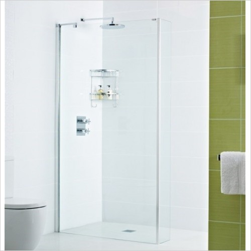 Roman Showers - Decem Wet Room Return Panel 240mm