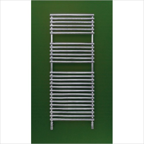 Bisque Radiators - Electric Straight Fronted Towel Radiator 1196 x 596mm