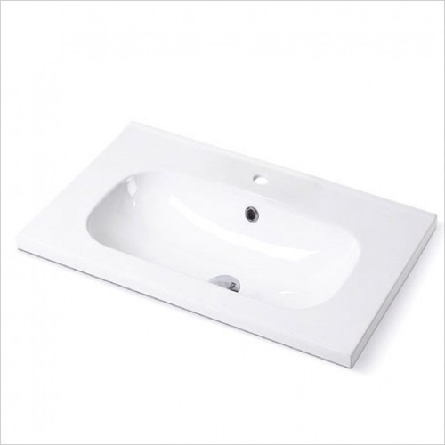 Imex - Duro 600mm Round Fine Ceramic Basin