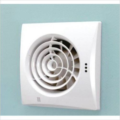 HIB - Hush White SELV Wall Mounted Extractor Fan