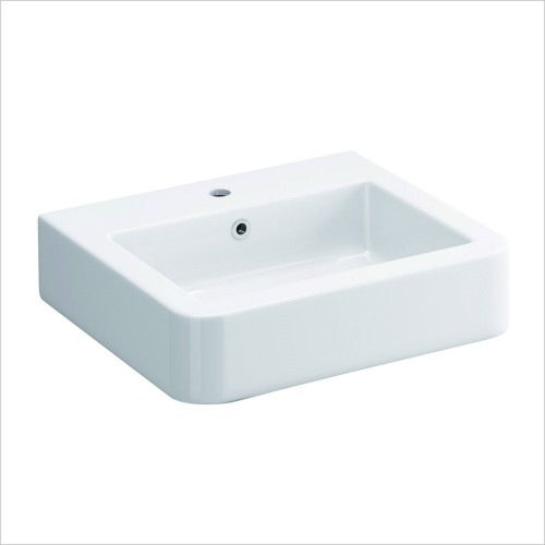Pura Bathrooms - Suburb 530mm Basin 1 Tap Hole