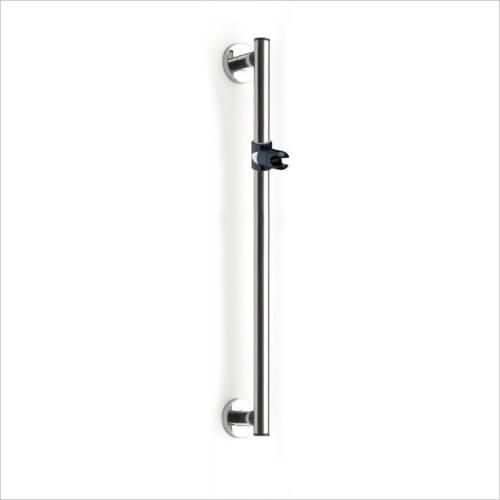 Lakes Bathrooms - Series 400 Steel SG Holding Handle With Shower Holder 800mm