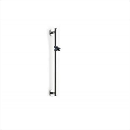Lakes Bathrooms - Series 400 Steel SG Holding Handle With Shower Holder 1000mm