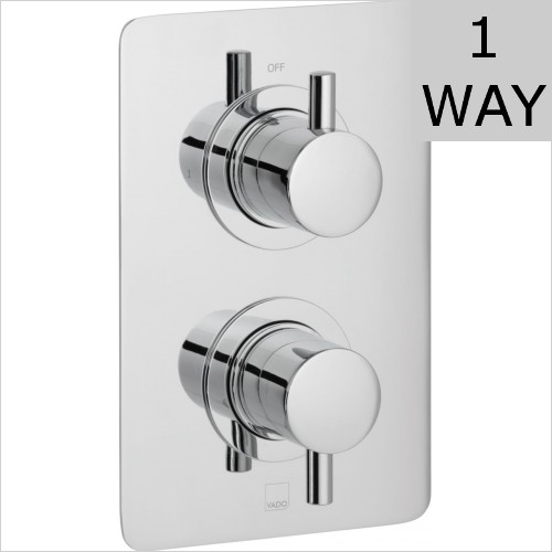 Vado - Celsius DX Square 1 Outlet Shower Valve